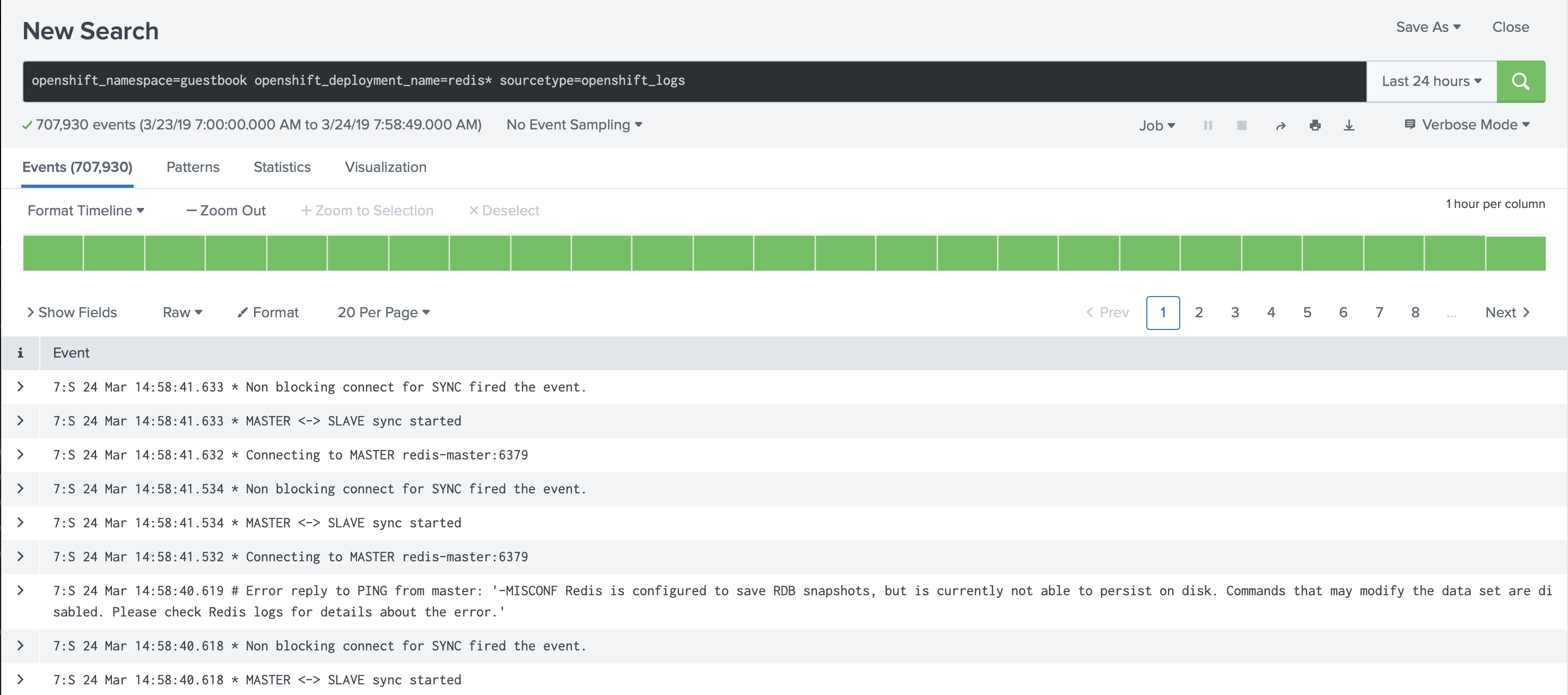 Reduce Splunk Licensing cost for container logs