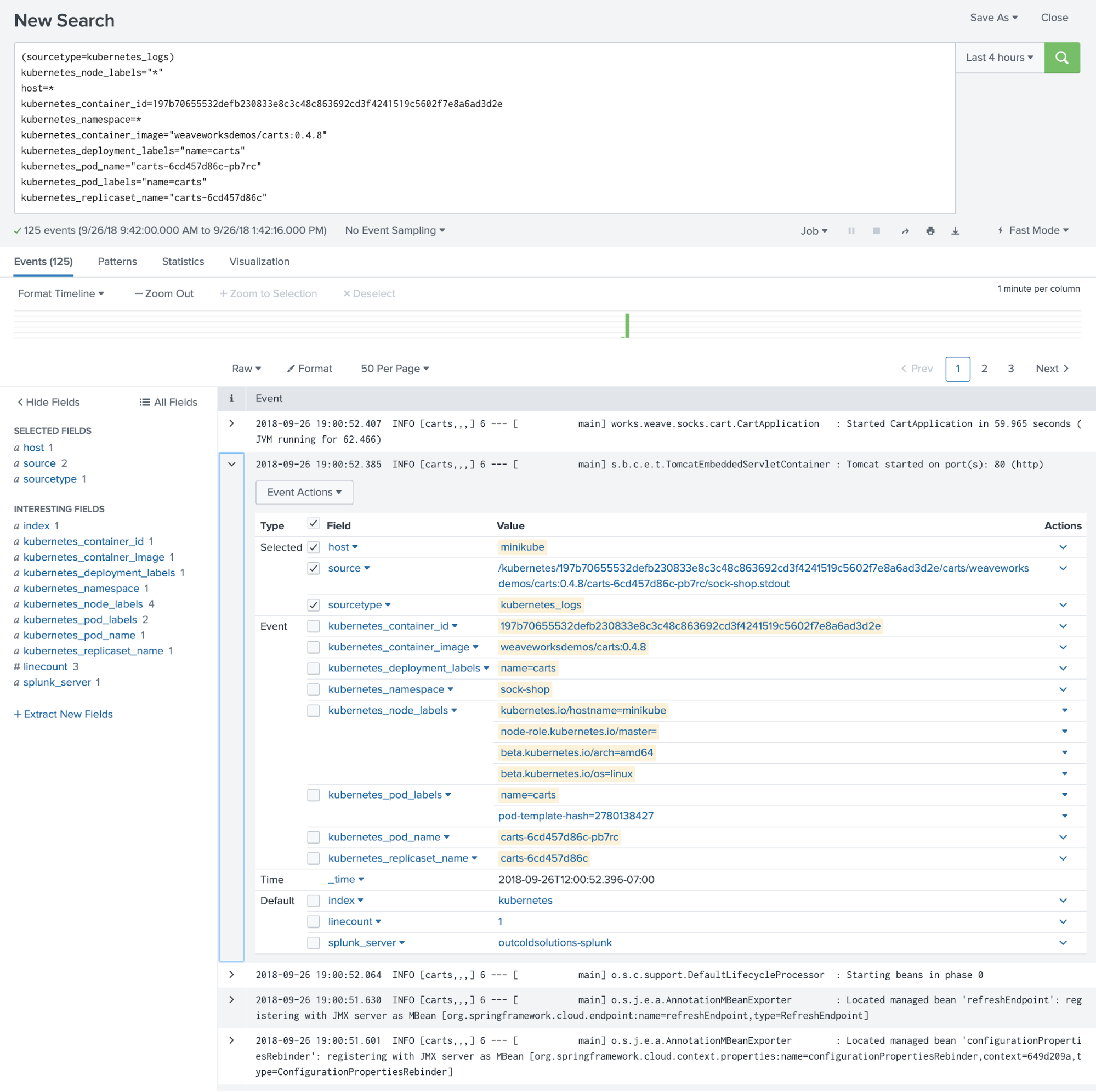 Monitoring OpenShift, Kubernetes and Docker in Splunk Enterprise and